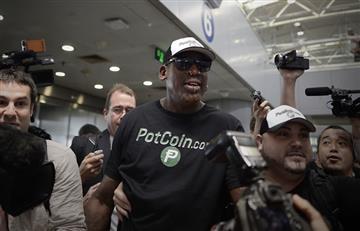 Dennis Rodman viaja a Corea del Norte en plena tensión con USA