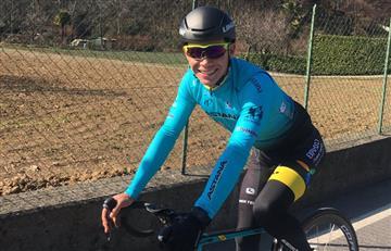 Miguel Ángel López abandona la Vuelta a Suiza por caída