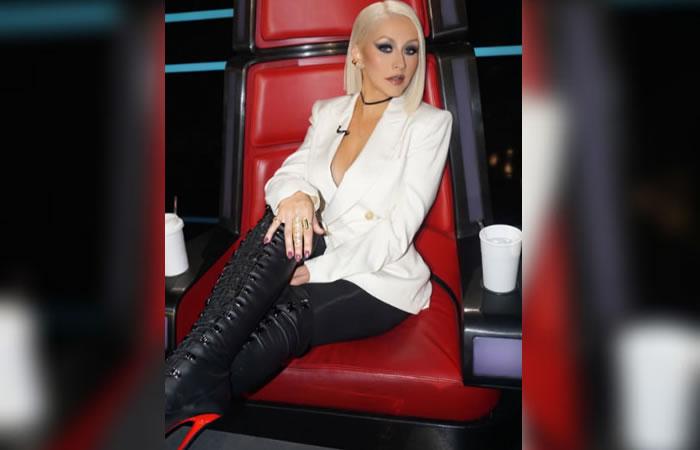 Christina Aguilera perdió peso con la técnica de Reiki