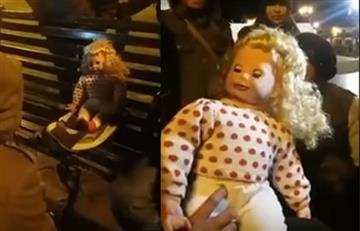 Muñeca que voltea la cabeza aterroriza a los habitantes de Cusco