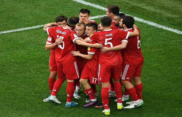 Copa Confederaciones: Rusia se llevó la primera victoria