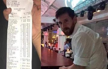 Lionel Messi y su escandalosa factura en Ibiza