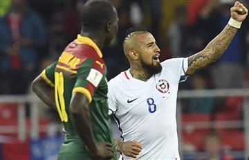 Chile sufrió contra Camerún pero logró ganar