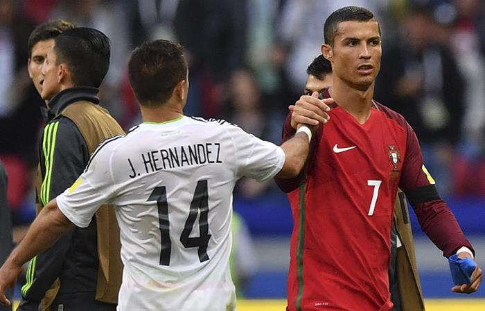 Copa Confederaciones: México y Portugal empataron en un partidazo
