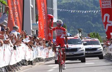 El colombiano Egan Bernal campeón del Tour de Savoie