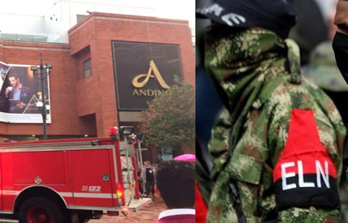 ELN rechaza autoría del atentado en el Centro Comercial Andino