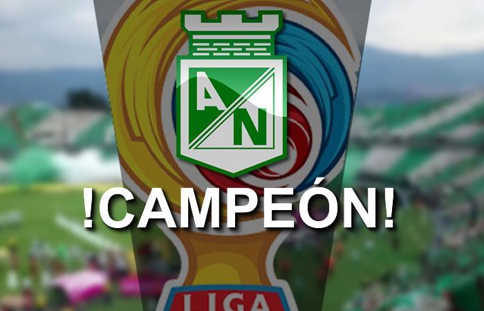 Atlético Nacional campeón de la Liga Águila 2017-l