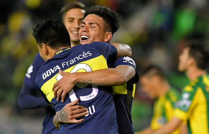 Boca Juniors. Foto: AFP