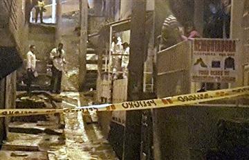 Explosión de una granada deja ocho heridos en Bogotá