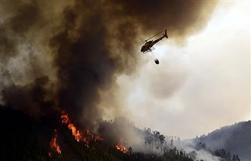 Portugal combate el incendio más grande en su historia