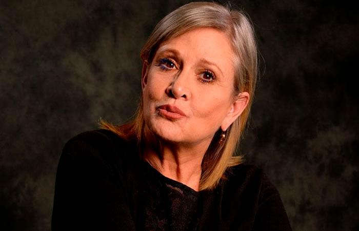 Carrie Fisher y los resultados de su autopsia. Foto: AFP