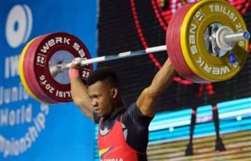 Colombia consigue 7 medallas en Mundial Juvenil de Pesas