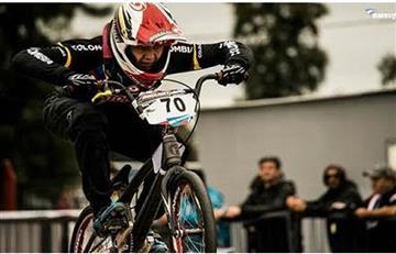Colombiano 'Huracán' Suárez, es campeón Latinoaméricano de BMX