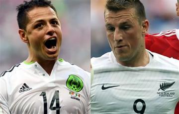 Copa Confederaciones: México y Nueva Zelanda por el primer triunfo