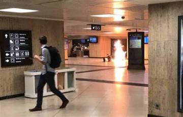 Explosión en Estación Central de Bruselas