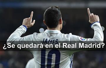 James Rodríguez renovaría contrato con el Real Madrid