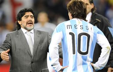 "Maradona prefiere a Messi pero Cristiano es ""increíble"""