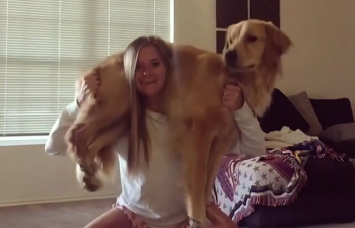 'Squat your dog', el nuevo reto viral con perros que arrasa en la red