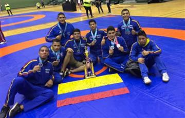 Colombia sumó 15 medallas en Sudamericano Juvenil de Lucha