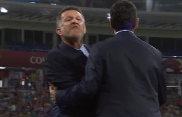 Juan Carlos Osorio y su insulto al técnico de Nueva Zelanda