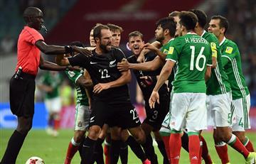 México le ganó a Nueva Zelanda y el VAR no funcionó