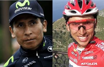 Nairo Quintana podría ser el maestro de la perla colombiana Egan Bernal