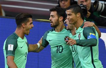 Portugal sufrió pero ganó a Rusia y ya piensa en Nueva Zelanda