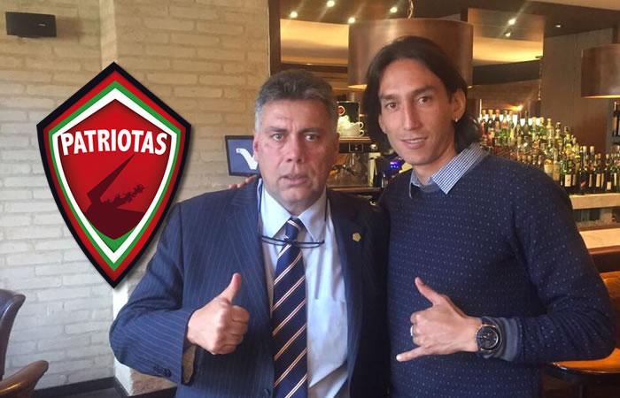 Rafael Robayo es nuevo jugador de Patriotas