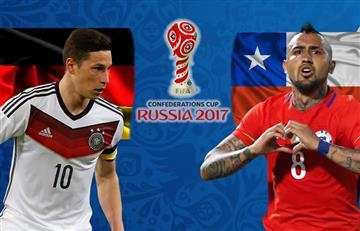 Alemania vs. Chile: Transmisión EN VIVO