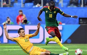 Camerún y Australia se van en tablas