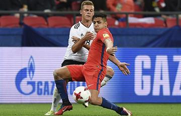 Chile y Alemania empataron en un partidazo