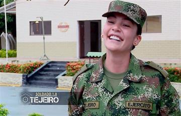 Lina Tejeiro decidió abandonar el reality Soldados 1.0
