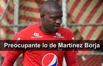 América confirma la gravedad de la lesión de Martínez Borja