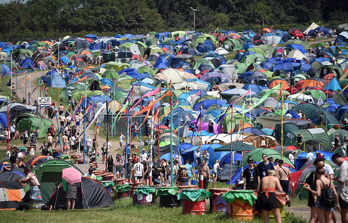 Glastonbury 2017. Foto: AFP