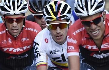 Jarlinson Pantano, gregario de lujo de Contador para el Tour de Francia