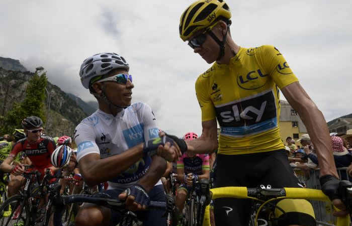 Nairo Quintana: Chris Froome se retracta con el colombiano