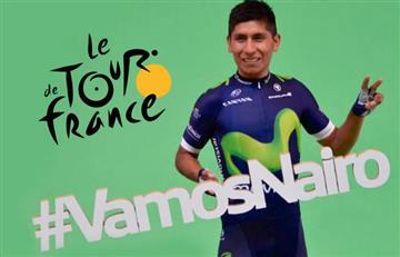 Nairo Quintana, con todo el apoyo del Movistar Team