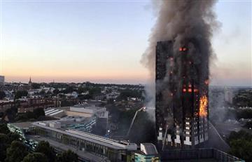 Policía de Londres confirma qué ocasionó el incendio en edificio