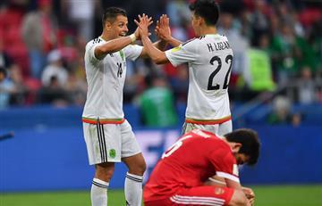 Copa Confederaciones: México venció a Rusia y clasifica a semifinales