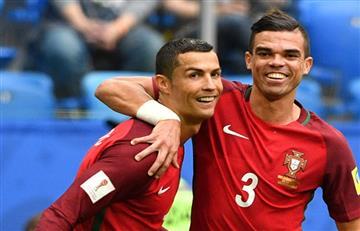 Copa Confederaciones: Portugal golea y pasa con comodidad