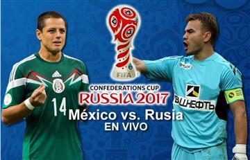 México vs. Rusia: Transmisión EN VIVO
