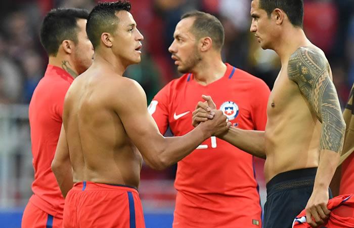 Copa Confederaciones: Chile empata y pasa a semifinales