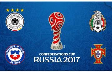 Copa Confederaciones: Estos son los cruces de semifinales