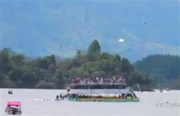 Guatapé: Barco que naufragó se había hundido hace tres meses