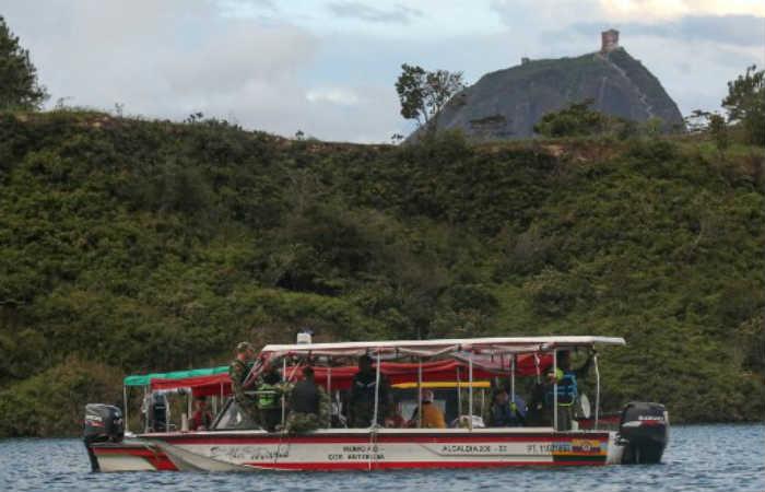 Guatapé: Continúa la búsqueda de cuerpos tras el naufragio