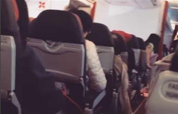 Video: Avión vibró como una lavadora en pleno vuelo