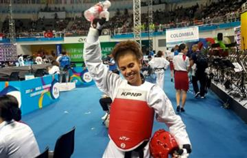Colombiana Andrea Ramírez gana medalla de bronce en mundial de Taekwondo