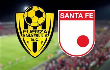Fuerza Amarilla vs. Santa Fe: Transmisión EN VIVO online