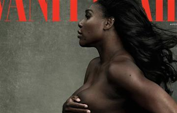 Serena Williams, embarazada, posa desnuda para Vanity Fair