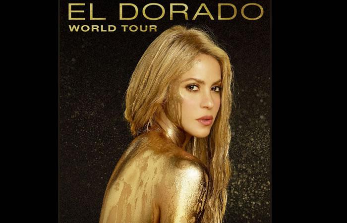 Shakira anuncia países para su gira 'El Dorado World Tour'